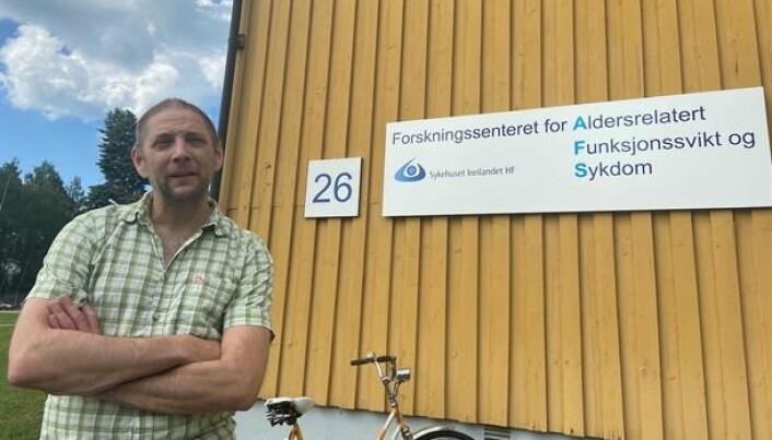 Forskningsleder Sverre Bergh tror pleiernes vurdering mer er et uttrykk for en redsel for selv å få demens.