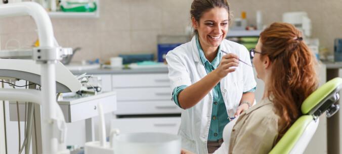 God kommunikasjon er viktig hos tannlegen
