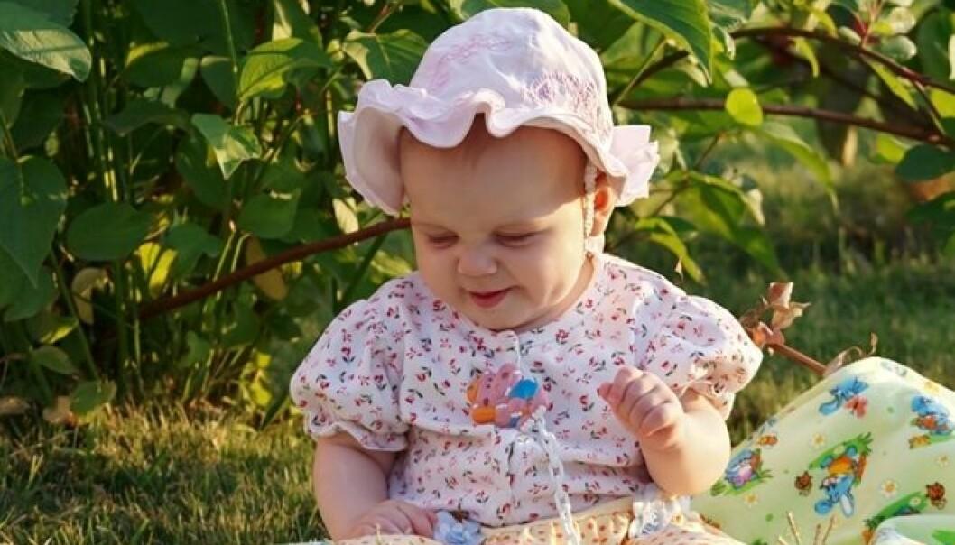Prosit! Det er mulig at mye pollen allerede før babyen kommer ut av magen kan øke risikoen for astma. Men forskerne vil undersøke tallene på nytt før de konkluderer. Colourbox