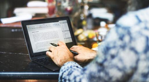 Dataprogrammet lover å gjøre teksten din bedre, men retter bare skrivefeil