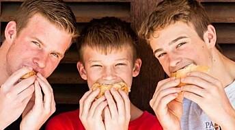Over halvparten av barn og unge dropper kostholdsrådene