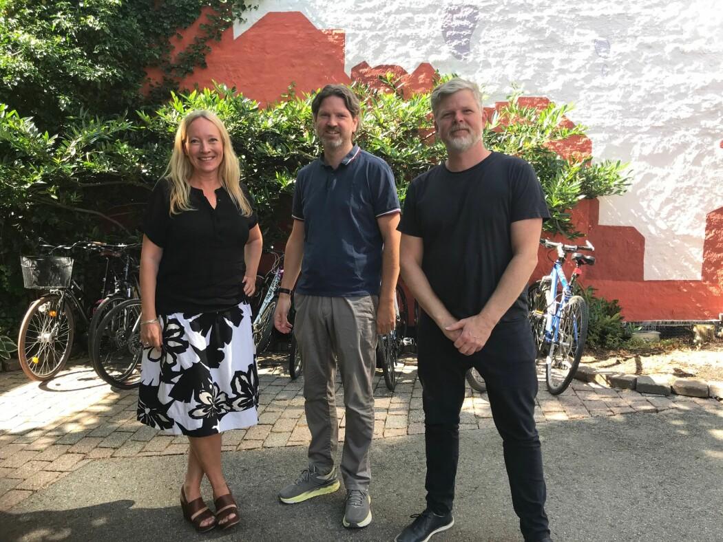 Trine Eikrem, Jan Frode Snellingen og Pål Erik Carling er en del av et team som skal lære opp familieterapeuter hvordan de skal snakke med familier om vold. Deres måte å jobbe på er utradisjonell og kontroversiell.