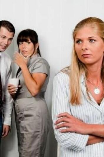 Mobbing på danske arbeidsplasser er et voksende problem. Og bedriftene er ikke så flinke til å gjøre noe med det, viser nye studier. (Foto: Colourbox)