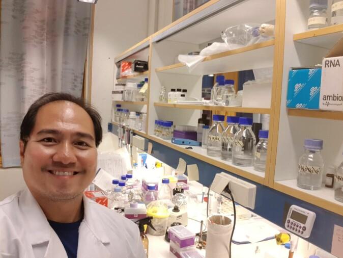 Postdoc Dennis B. Bela-Ong er førsteforfatter på den vitenskapelige artikkelen fra forskningsprosjektet.