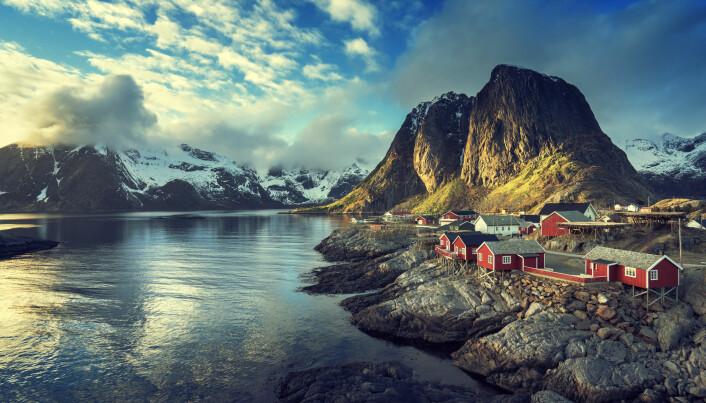 Prosjektet kan gjøre Norge ledende på drone-forskning, mener forskerne bak. Her fra Reine i Lofoten.