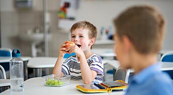 Skolefrukt har effekt, men kanskje ikke på lang sikt