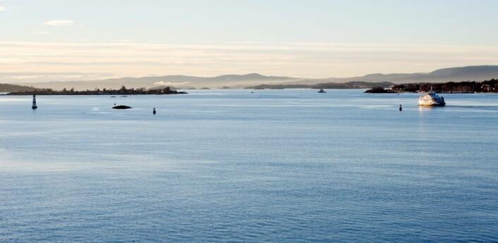 Nå kan havværet – strøm, temperatur og saltinnhold – varsles helt inn i Oslofjorden. Her er Nesoddbåten på vei fra Aker Brygge til Nesoddtangen. (Foto: Espen Bratlie / Samfoto)