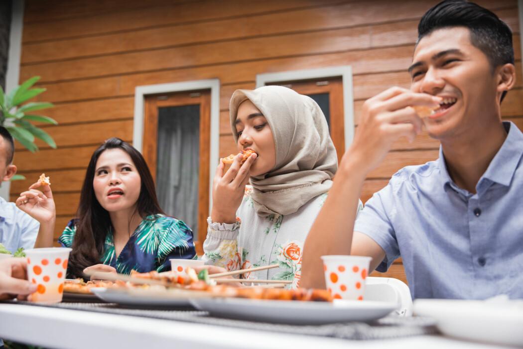 Er maten sunn eller usunn? Det varierer fra person til person.