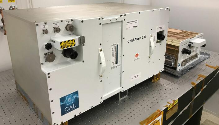 Denne litt anonyme boksen kan være universets kaldeste sted. Den ble installert på romstasjonen i 2018.
