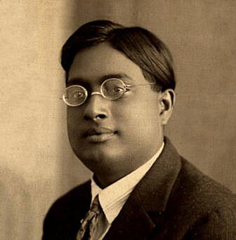 Den indiske matematikeren og fysikeren Satyendra Bose i 1925.