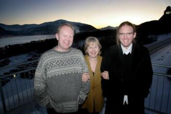 """""""Initiativtagere til prosjektet Arktiske diskurser. Fra venstre: Henning Howlid Wærp, Anka Ryall og Johan Schimanski."""""""