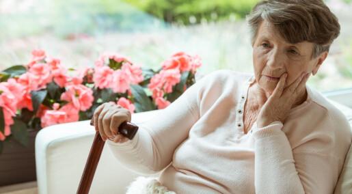 Tre av fire hjemmeboende går ned i vekt etter hoftebrudd