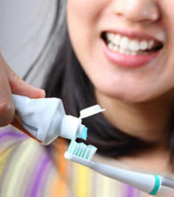 Triklosan finnes blant annet i kosmetiske produkter og i enkelte tannkremer. (Illustrasjonsfoto: Shutterstock)