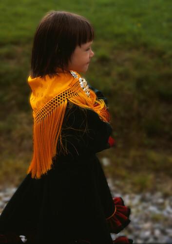 Samiske foreldre snakkar no samisk til ungane siden, fortel språkforskar. (Foto: samisknettverk/Flickr)