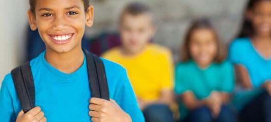 Mange barn synes skolen er helt topp de første årene