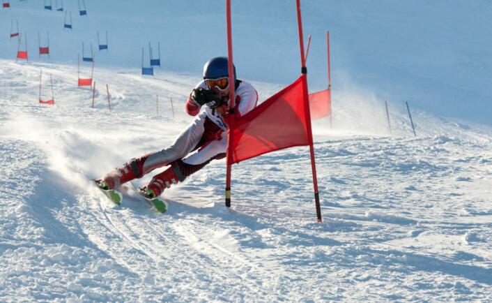 Glidesmørning brukes oftest i alpinbakken. (Illustrasjonsfoto: www.colourbox.no)
