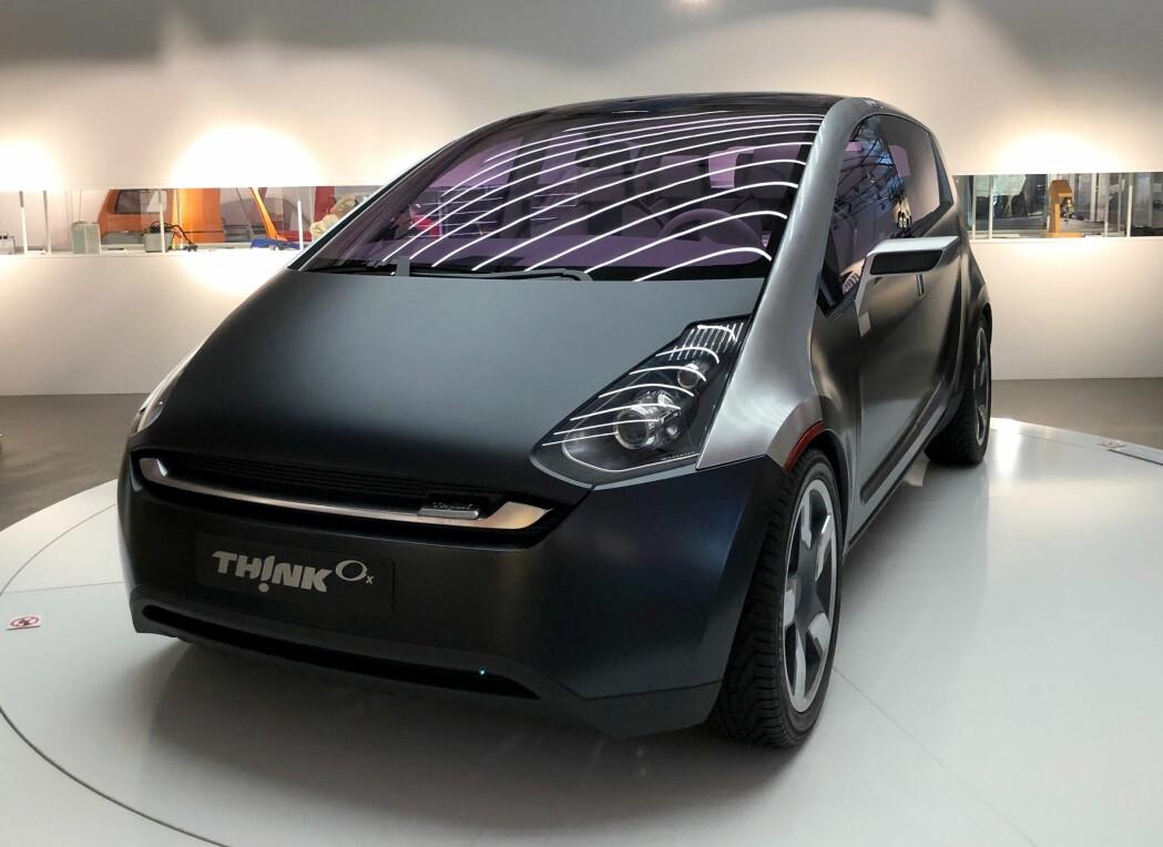 Den siste Think-modellen ble designet med hjelp fra Porsche i 2008. Dette kunne ha blitt et norsk industrieventyr. Designet er det ingenting å si på. Teknologien var også på plass. Men Think-fabrikken var trolig noen år for tidlig ute med elbilene sine.