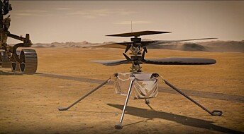 Nordmann skal styre det første flygende fartøyet på Mars