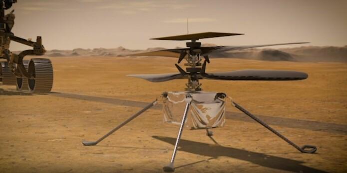 NASA skal snart sende en ny rover og et minihelikopter til Mars
