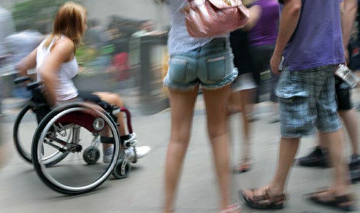 Sjansen for at en funksjonshemmet jente blir utsatt for vold av sin familie eller kjæreste er fire ganger større enn for andre, viser forskning. (Foto: (Ill.: www.colourbox.no))