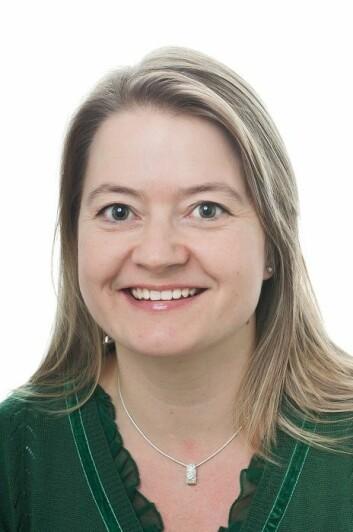 Forsker Hilde Nilsen ved Bioteknologisenteret. (Foto: John Huges, UiO)