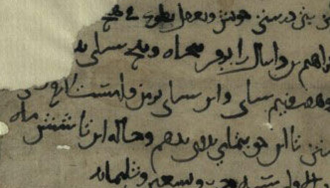 Dette lovdokumentet i judeo-persisk frå år 1005 er blant dokumenta som er oppdaga i ei hole i Afghanistan. Israel National Library