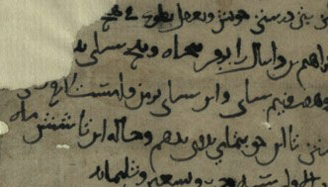 1000 år gamle jødiske skrifter oppdaga i hole i Afghanistan