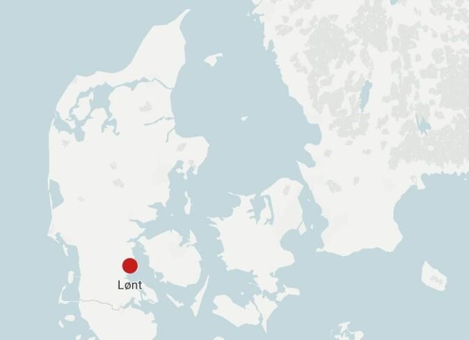 Smeltedigelen er funnet ved et større gravkompleks ved Lønt nær Haderslev. Les mer om funnstedet i boksen under artikkelen.
