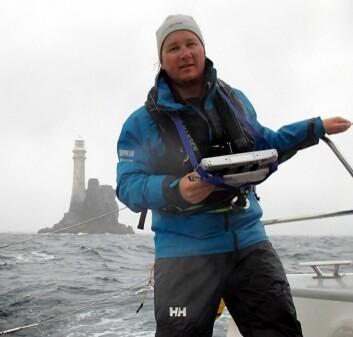 Nils Melsom Kristensen er oseanograf og forsker ved Meteorologisk institutt. (Foto: privat)