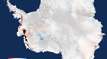 Satellitter oppdager økt smelting av landis
