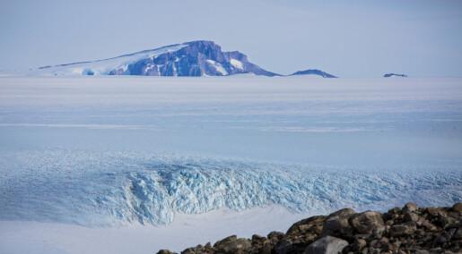 Sydpolen-temperatur stiger tre ganger raskere enn på resten av kloden