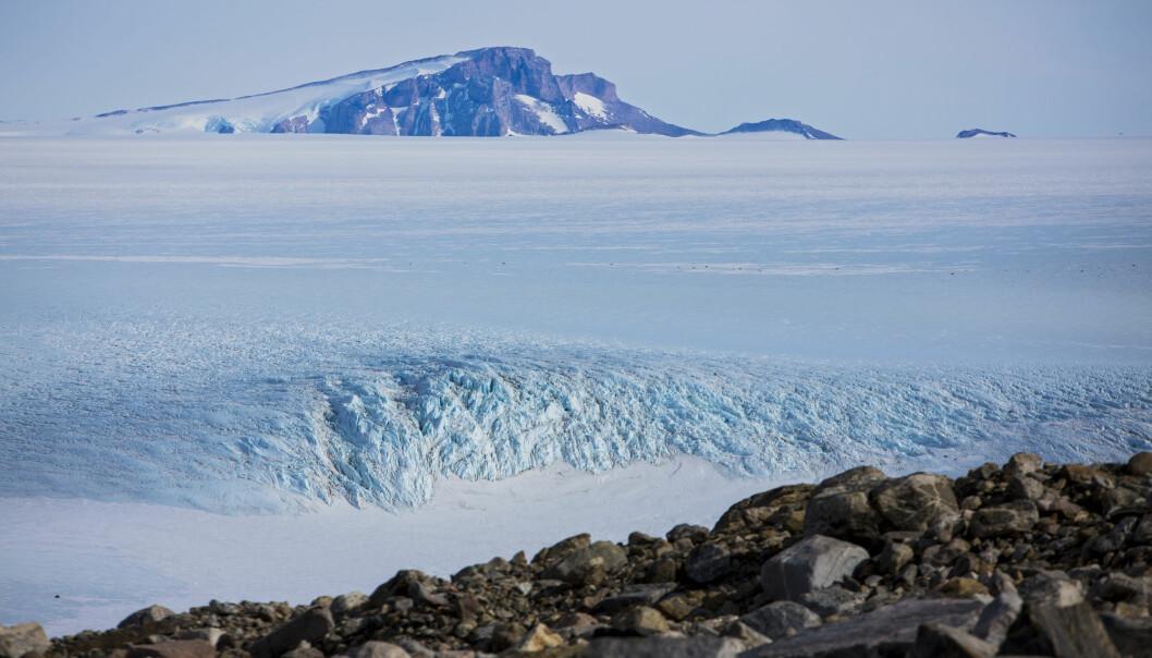 Sydpolen varmes opp tre ganger raskere enn resten av kloden.