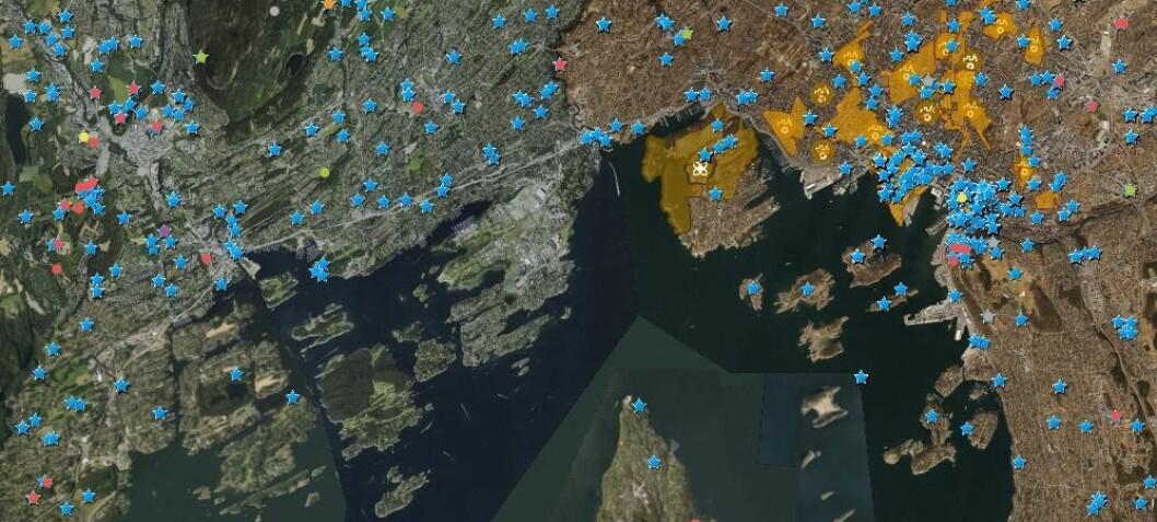 Ny app gir deg oversikt over arkeologi og kulturminner på Østlandet