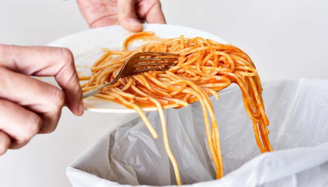 Kunne denne spaghettien gått i vaffelrøra? Kanskje ikke, men det er mye vi kan gjøre for å kaste mindre mat.