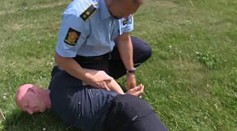 Uforsvarlig dårlige ferdigheter hos eldre politifolk