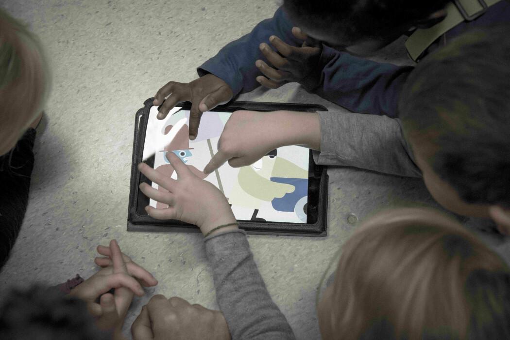 Bildebok-appene byr på mange muligheter. Lyder og animasjoner og spill kan aktiveres ved fingre over skjermen, noe som skaper nysgjerrighet.