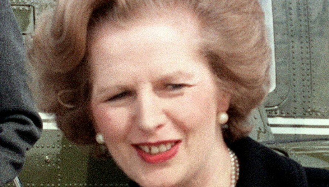 Margaret Thatcher i 1981. Wikimedia Commons