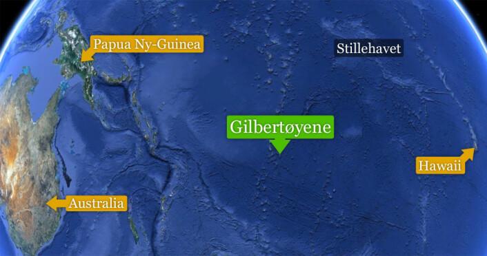 (Foto: (Kart: Google Maps/forskning.no))