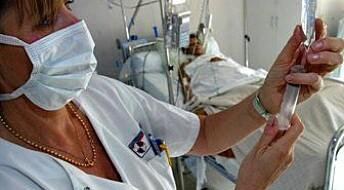 Færre sykepleiere jobber deltid