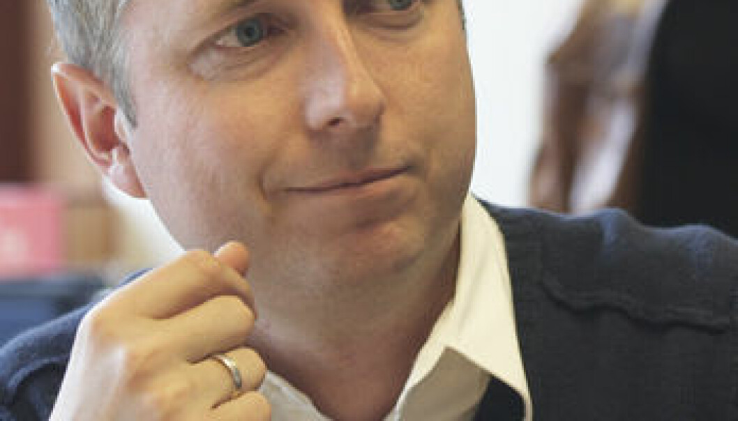 Bård Vegard Solhjell (Foto: Annica Thomsson)