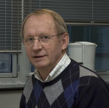 Professor Per Osland ved Institutt for fysikk og teknologi ved Universitetet i Bergen. (Foto: Privat)