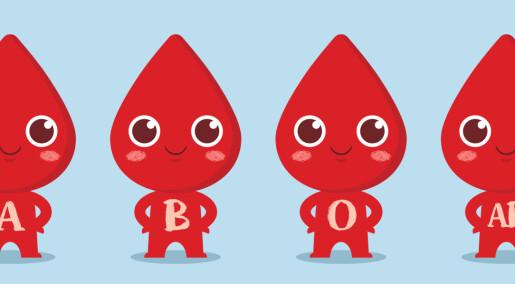 Hvorfor tror noen at blodtypen bestemmer personligheten?