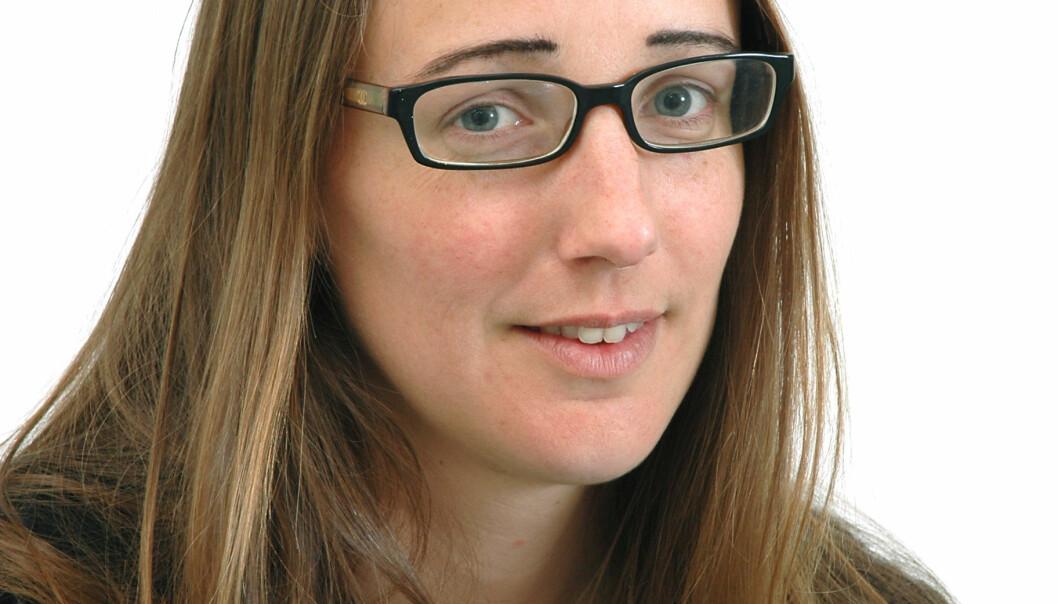Litteraturforsker Christine Hamm. (Foto: Kilden)