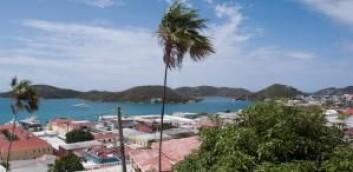 De tre øyene Sankt Thomas, Sankt John og Sankt Croix utgjorde Dansk Vestindia, men kalles i dag for US Virgin Islands eller Jomfruøyene. (Foto: Maj Bach Madsen)
