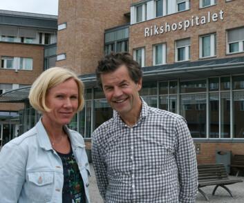 Bevegelse er bra, mener Anne Froholdt og Jens Ivar Brox. (Foto: Elin Fugelsnes)