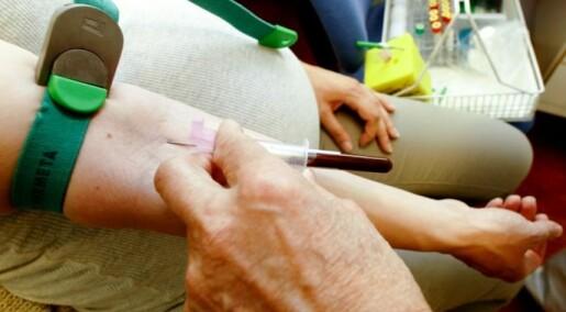 Blodprøve varsler død