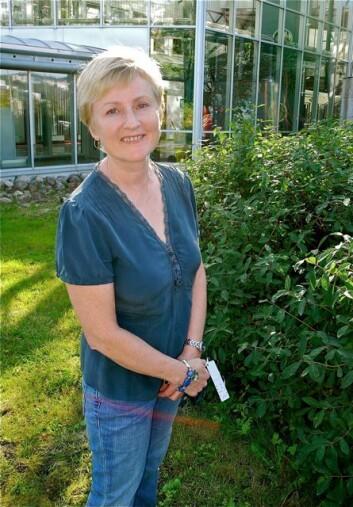 Stipendiat Inger J. Danielsen ved Helsefak (Foto: Elisabeth Øvreberg)
