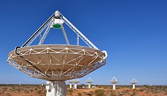 Radio-sirklene ble funnet med teleskopet Australian Square Kilometre Array Pathfinder (ASKAP) i Australia.