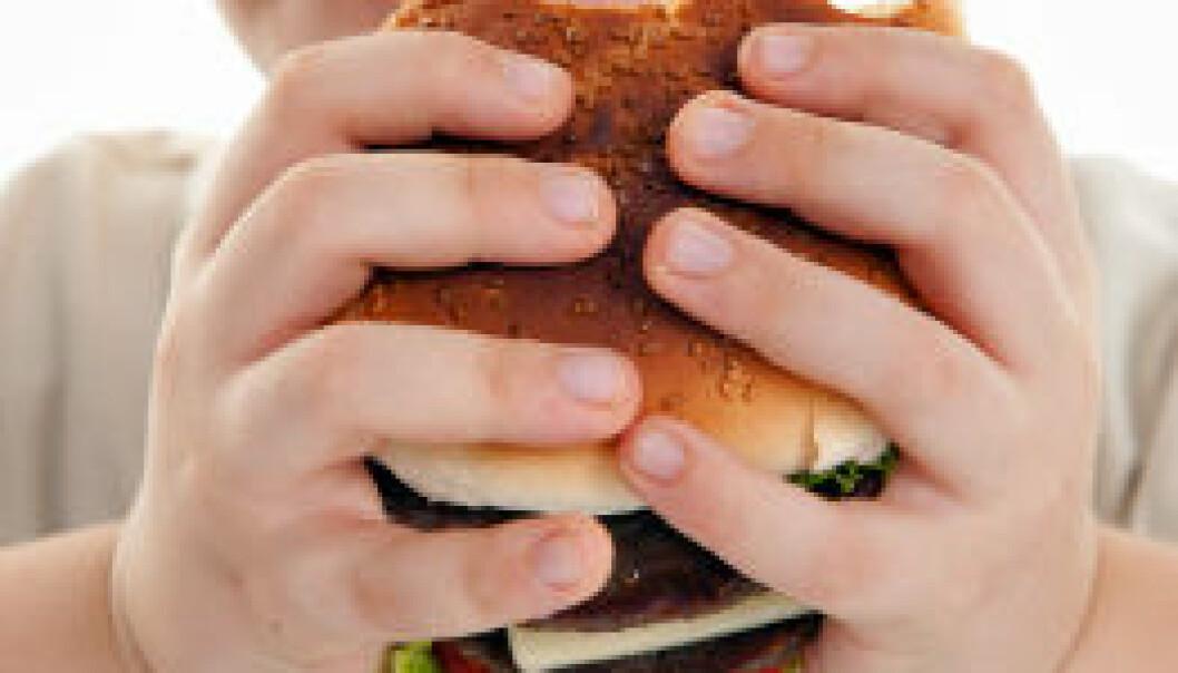 Overvekt, barn. iStockphoto