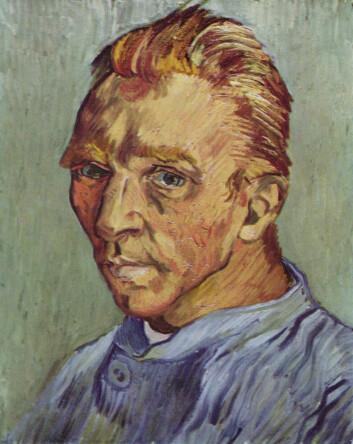 Vincent Willem van Gogh, selvportrett 1890. (Foto: (Bilde: Wikimedia Commons))